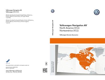 Documento de activación para la funcionalidad de la navegación AV Norteamérica (V11) para RNS 850